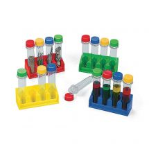 Science Test Tubes with Trays Set