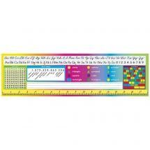 Cursive & Numbers Nameplates