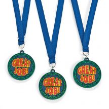 Great Job Rubber Medals