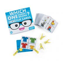 Which One Doesn't Belong? Clip Card Activity