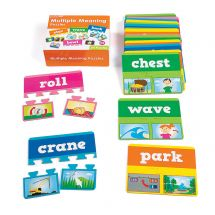 Multiple Meaning Word Puzzle Set
