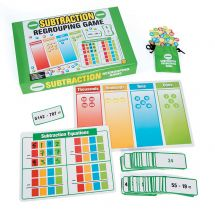 Subtraction Regrouping Activity