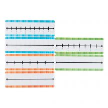 Dry Erase Fraction Number Lines