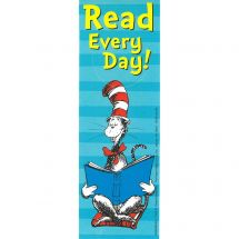 Dr Seuss Read Everyday Bookmarks