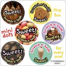 Scented Motivation Mini Dot Stickers