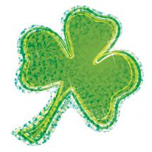 Sparkle Shamrock Stickers