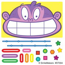 Make-Your-Own™ Braces Stickers