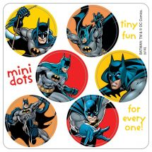 Batman Mini Dot Stickers