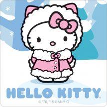 Hello Kitty Winter stickers