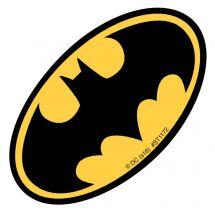 Batman Logo Shaped Stickers