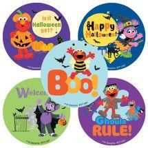 Sesame Street Halloween Stickers