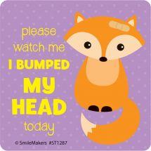I Bumped My Head Stickers