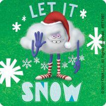 DreamWorks Trolls Christmas Stickers