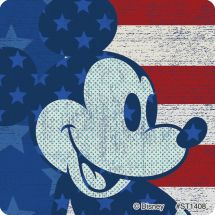 Mickey Mouse 4th of July Stickers
