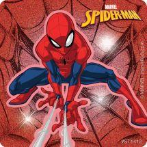 Spider-Man Glitter Stickers