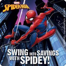 SPIDER-MAN SAVE STICKERS