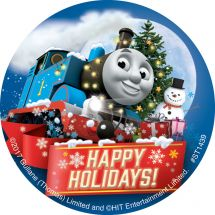 Thomas and Friends Christmas Sticker
