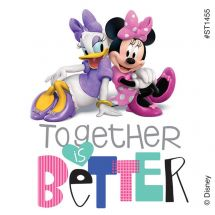 MINNIE MOUSE & DAISY STICKERS