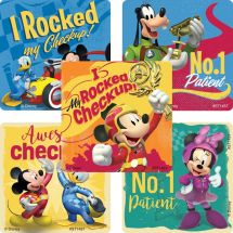 MICKEY MOUSE ROADSTER PATIENT STICKE
