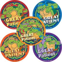 TMNT GREAT PATIENT STICKERS
