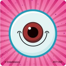 Smiling Eyes Stickers