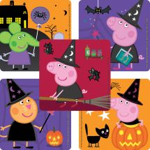 Peppa Pig Halloween Stickers