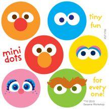 Sesame Street Mini Dot Stickers