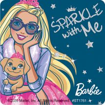 Barbie Modern Princess Stickers