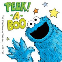 Sesame Street Monsters Stickers