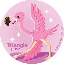 Animal Yoga Stickers
