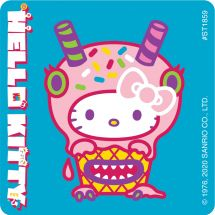 Hello Kitty Monster Cuties Stickers