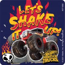 Hot Wheels Monster Truck Shake Up Stickers