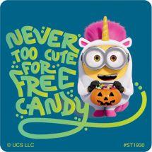 Minions Halloween Stickers