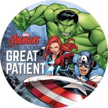 Avengers Patient Stickers