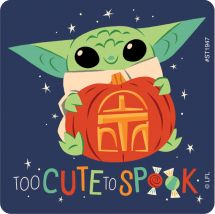 Mandalorian Halloween Stickers