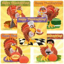 Thanksgiving Turkey Stickers