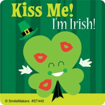 Cute St. Patrick's Day Stickers