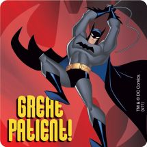 Batman Patient Stickers