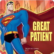 Superman Patient Stickers