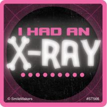 Glow in the Dark I Had an X-Ray Stickers
