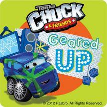 Chuck & Friends Adventures Stickers