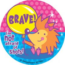 Hedgehog Shots Stickers