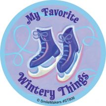 Favourite Wintery Things Stickers