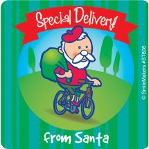 Special Delivery from Santa Stickers