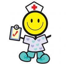 MYO Medical Smiley Stickers