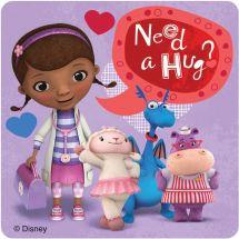 Doc McStuffins Valentine's Day Stickers
