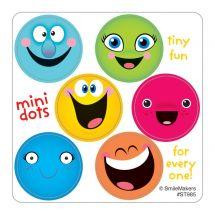 Smiley Face Mini Dots