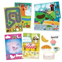 150 Sticker Activity Sheets Assorted Packs