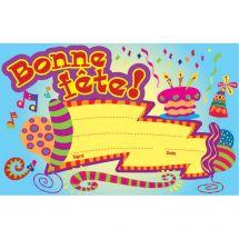 French Bonne Fete Certificate