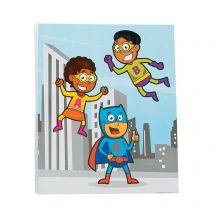Superhero Pocket Folders